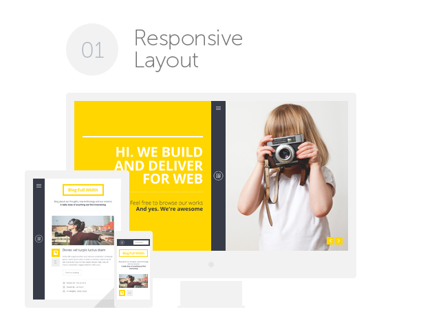 creative, personal, portfolio, cv, multipurpose HTML Template