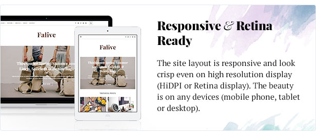 Falive - Beautiful Creative & Fashion Blog Theme - 7
