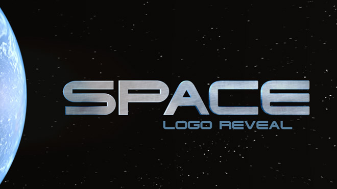Space Logo Reveal - 5