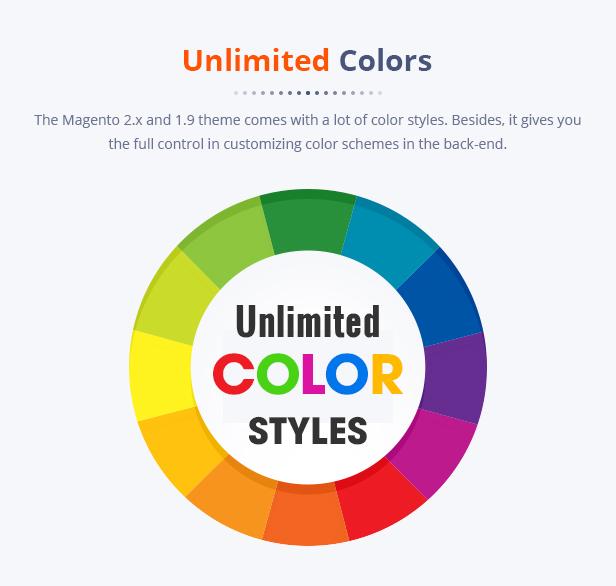 Best Magento 2 Themese - homepage
