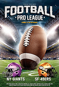 American football league