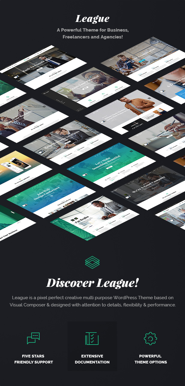 Business League - A Powerful Theme for Business, Freelancers and Agencies - 4