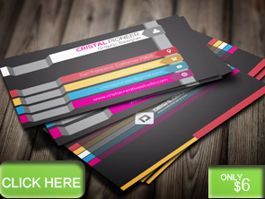 Colorful Art Business Card - 10