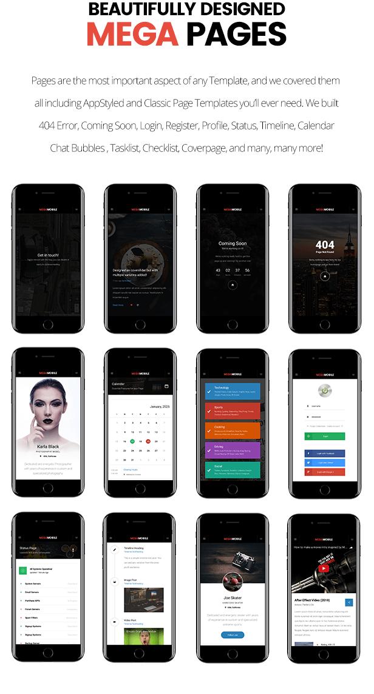 MegaMobile   PhoneGap & Cordova Mobile App - 18