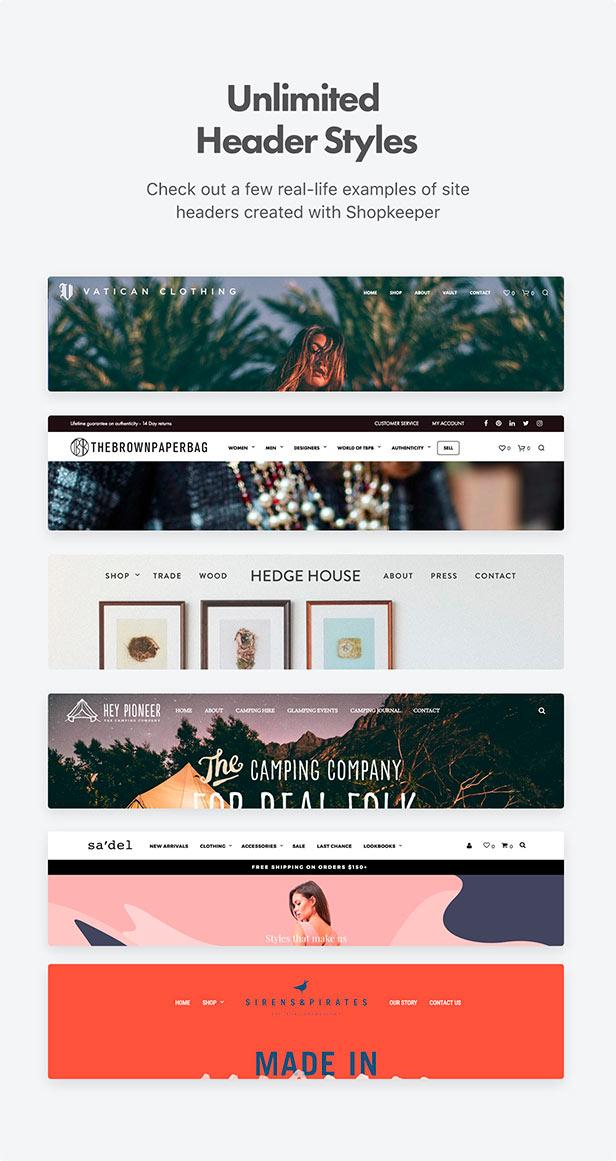 Shopkeeper - eCommerce WordPress Theme for WooCommerce - 34