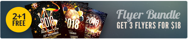 New Year Flyer Bundle Vol.12