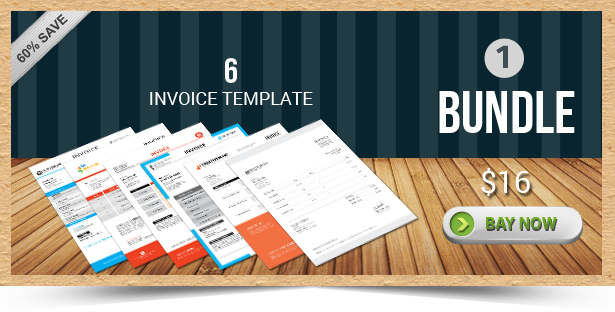 Active Invoice Templates - 1