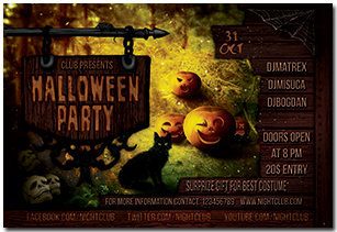 Halloween Party Flyer - 7