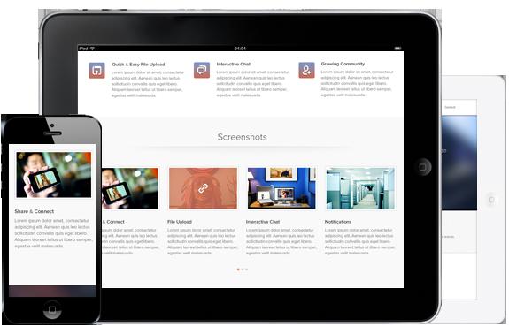 Vertex - Single Page App Template - 1