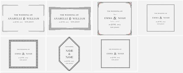 300+婚礼元素独特婚礼动画场景复古框架装饰花卉婚礼标题设计模型工具包AE模板