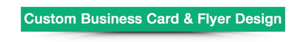 WooCommerce Business Card & Flyer Design - 9