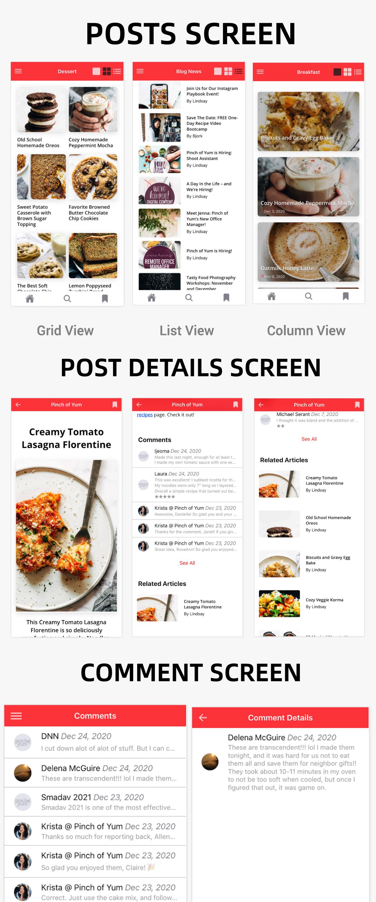 NewsPress - Ionic 5 mobile app for WordPress - 4