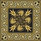 Vector Gold Greek Ornament - 1
