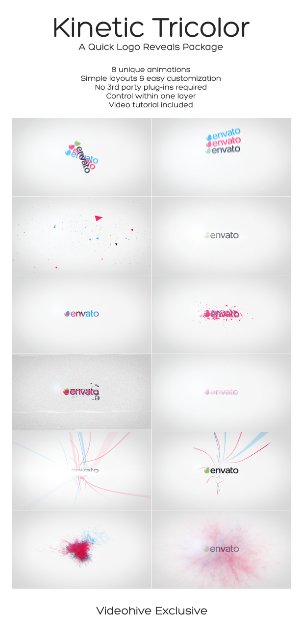 Kinetic Tricolor - A Quick Logo Reveals Package - 9