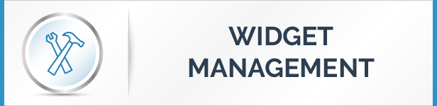 Widget Management Feature