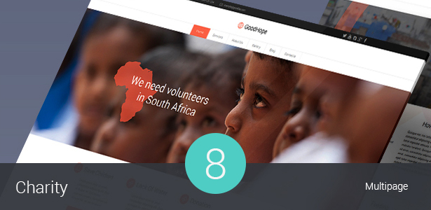 Charity & Nonprofit WordPress Theme