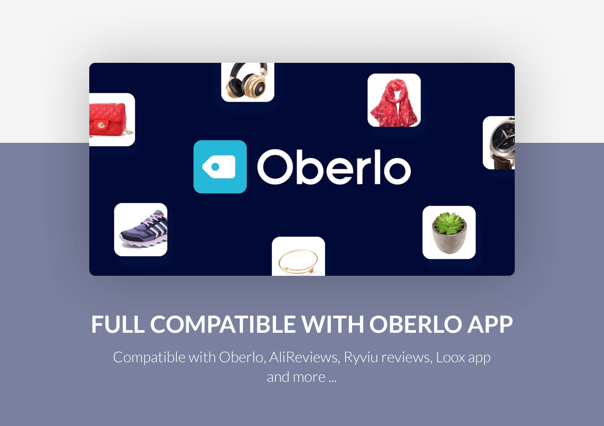 Compatible with Oberlo app