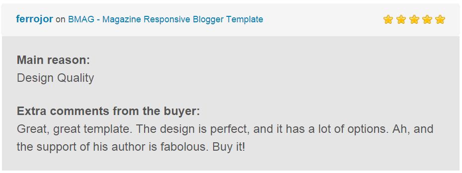 BMAG - Magazine Responsive Blogger Template - 18