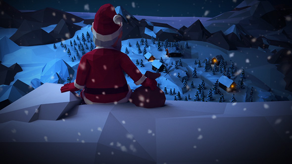 christmas video templates download