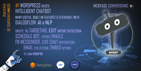 ChatBot für WooCommerce - Retargeting, Exit Intent, Abandoned Cart, Facebook Live Chat - WoowBot - 3