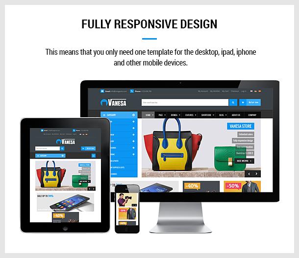 Vanesa   Mega Store Responsive Joomla Template - 8
