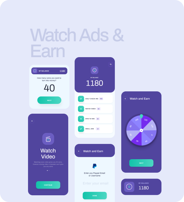 Watch And Earn - Android App Source Code - 1