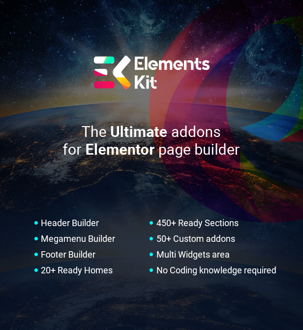 ElementsKit - The Ultimate Addons for Elementor Page Builder