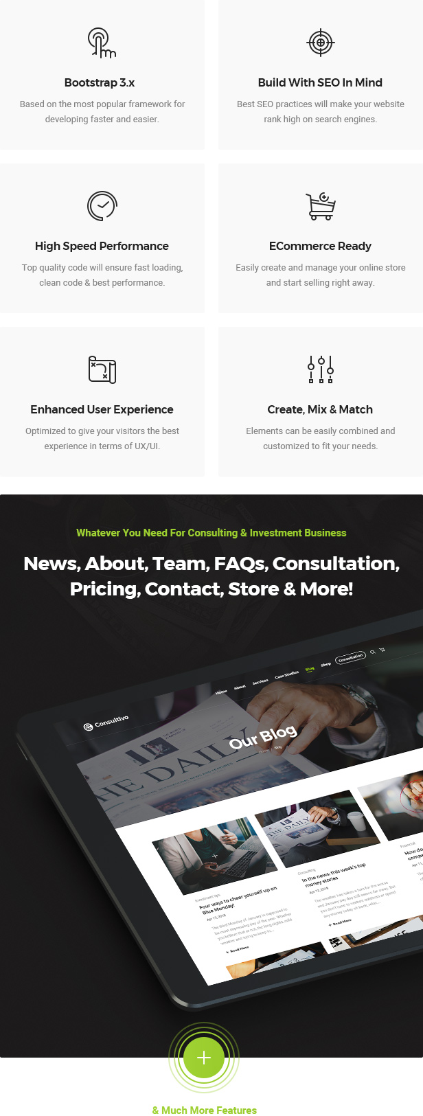 Consultivo - Business Consulting and Investments HTML5 Template - 4
