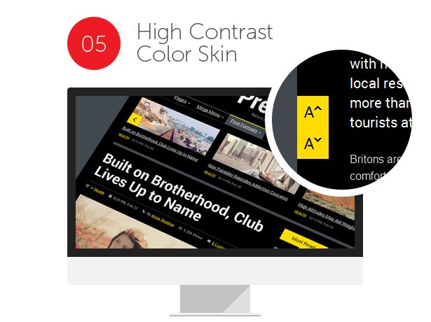 blog, newspaper, editorial, publishing, news and magazine HTML Template