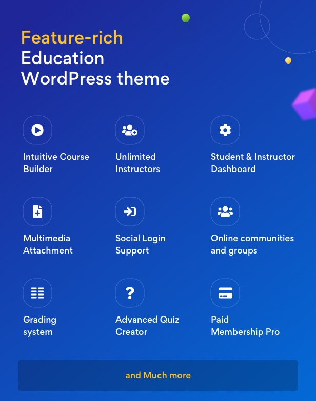EduMall - Professional LMS Education Center WordPress Theme - 31