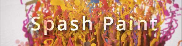 Spash Paint banner promote