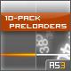 10-Pack Preloaders. 100% Code