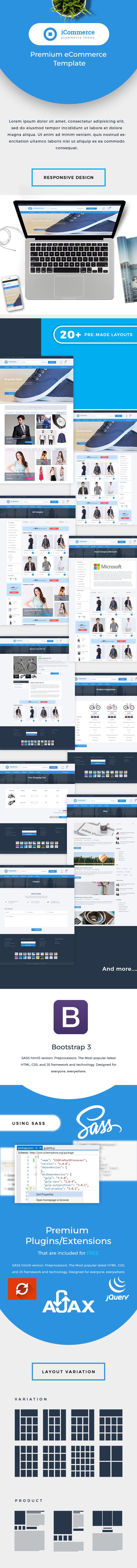 iCommerce - Ecommerce HTML Template - 1