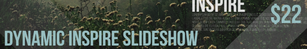 Dynamic Inspire Slideshow