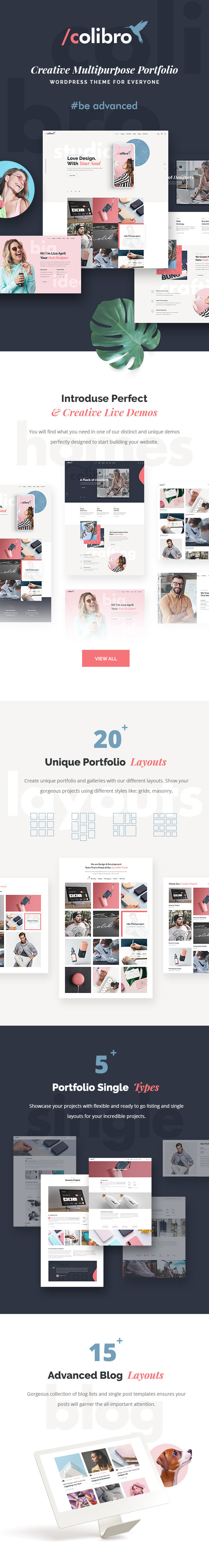 Colibro - Multipurpose Portfolio WordPress Theme - 2