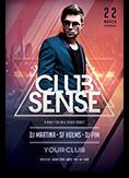 Club Sense Flyer