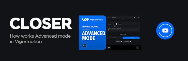 Vigormotion Photoshop Plugin for Animation - 6