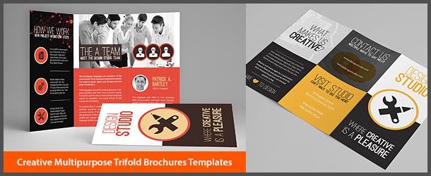 Creative Multipurpose Trifold Brochures Templates