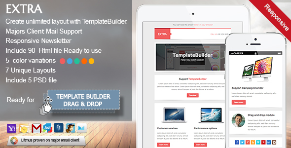 Extra Responsive Email Template