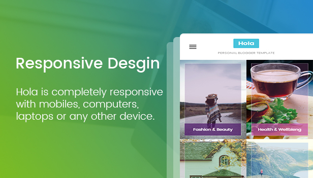 Hola - Personal Blogger Template For Bloggers - 3