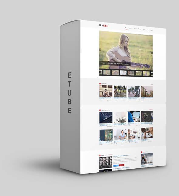 eTube - HTML5 Video Blog / Magazine / Entertainment Site Template - 11