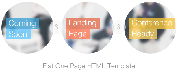 Infine - One Page Conference & Event Template - 1