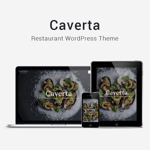 Caverta - Fine Dining Restaurant WordPress Theme - 1