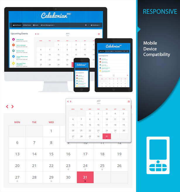 Caledonian Pro Php Event Calendar By Thunderfury | Codecanyon