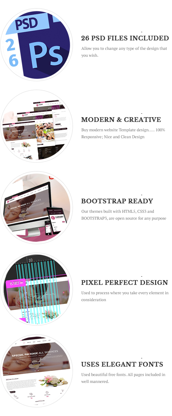 Luxury Spa and Beauty Html Template