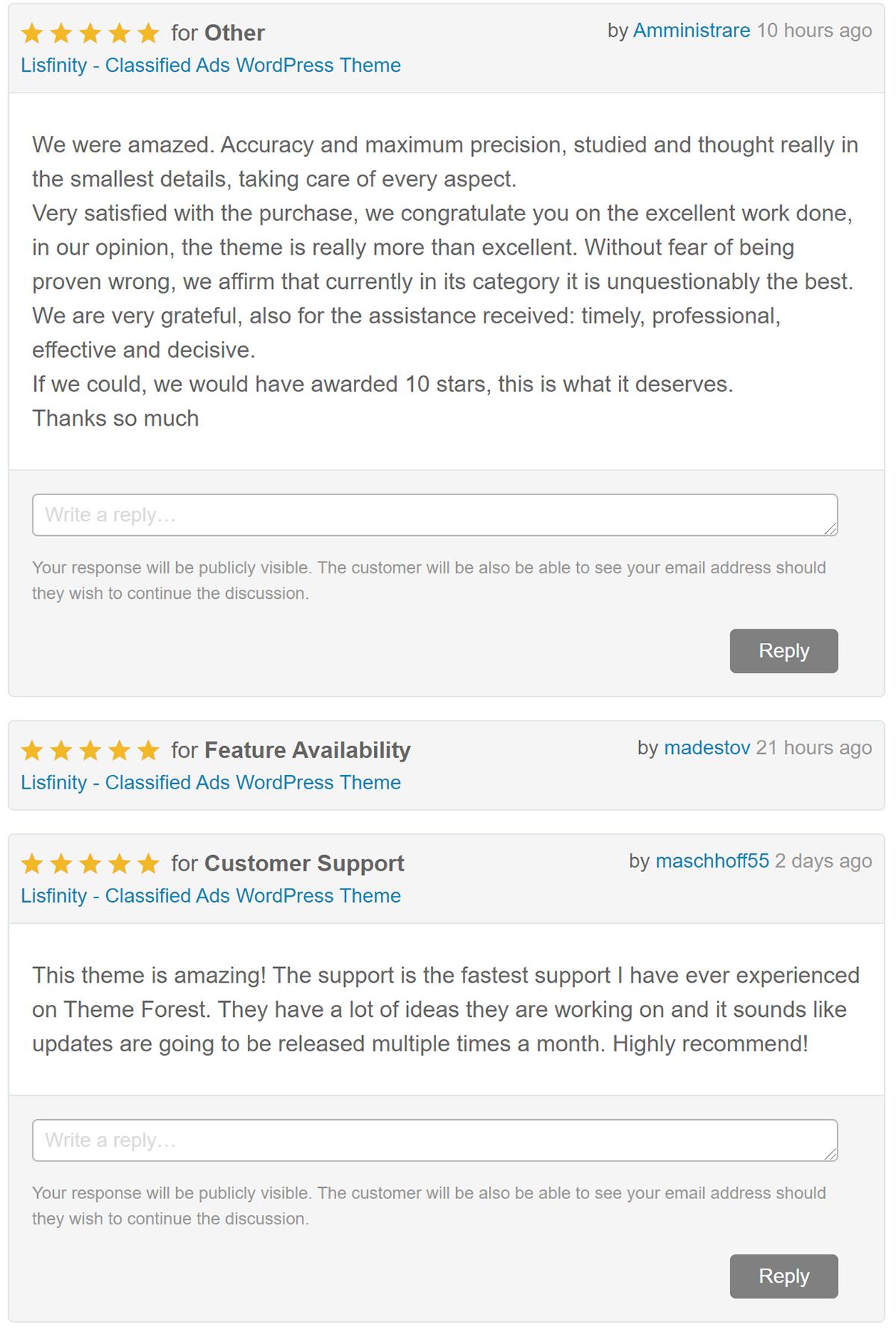 Lisfinity - Classified Ads WordPress Theme - 3
