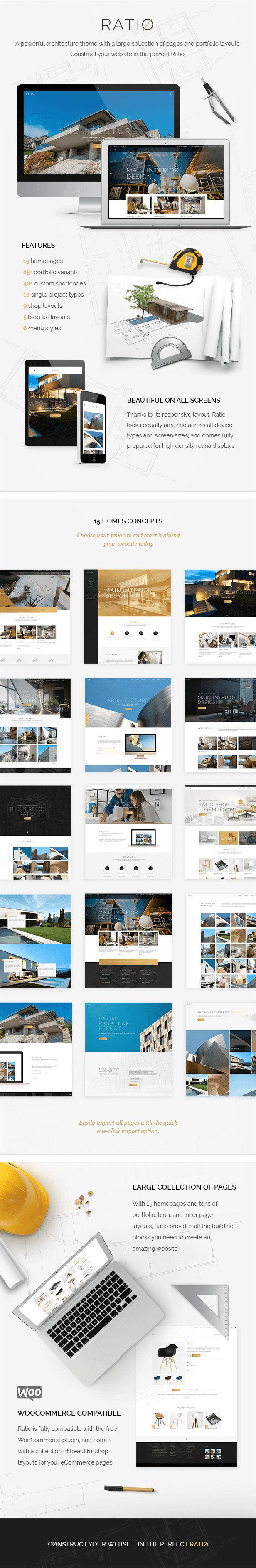 Ratio A Powerful Theme For Architecture Construction And