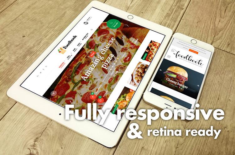 Foodbook - Receita da Comunidade, Blog, Food & Restaurant Theme - 2