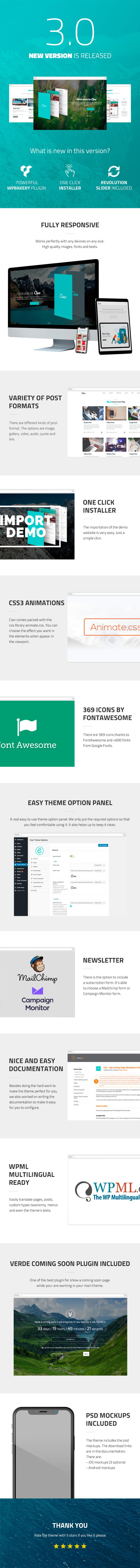 Cian - App Landing Page WordPress - 3