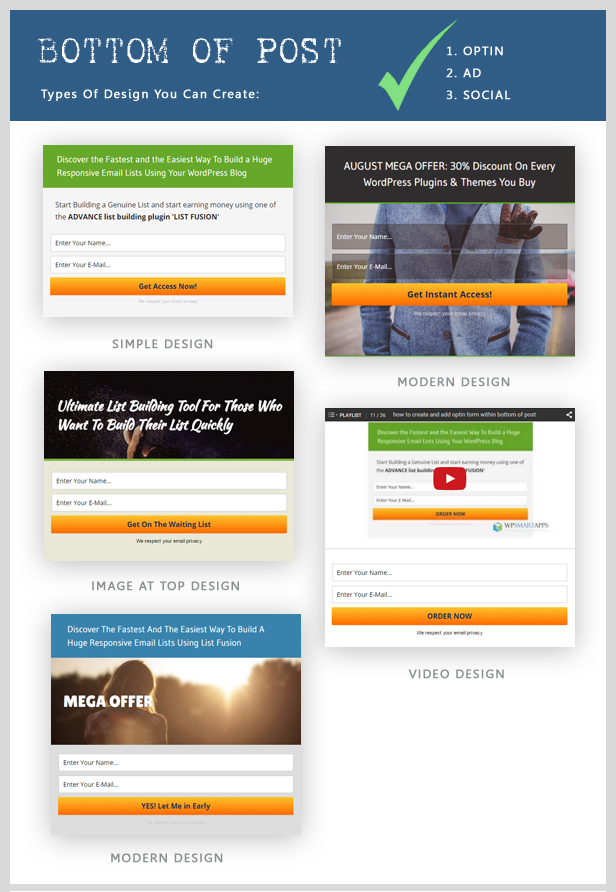 List Fusion - Best PopUp and Lead Generation Plugin - 13